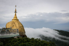 Пагода Kyaiktiyo стоковые фотографии rf