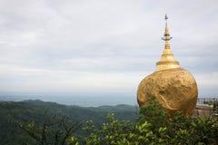 Пагода Kyaiktiyo Стоковая Фотография RF