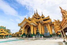 Пагода Kyauk Taw Gyi в Мьянме стоковые фото