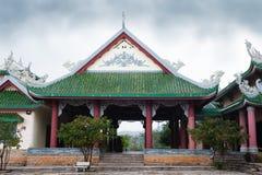 Пагода Linh Ung виска стоковое фото rf