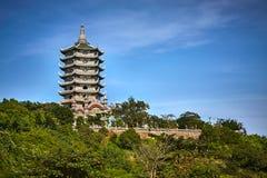 Пагода Linh Ung Стоковые Изображения RF