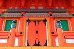 Пагода Sanjunoto на виске Kiyomizu-dera в Киото, Японии Стоковое Изображение