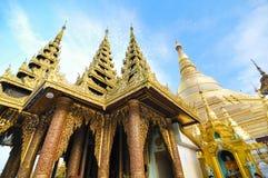Пагода Shwedagon в Янгоне, Мьянме стоковые изображения rf