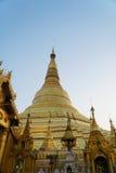Пагода Shwedagon в Янгоне, Мьянме стоковое изображение rf