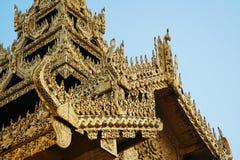 Пагода Shwedagon в Янгоне, Мьянме стоковые фотографии rf