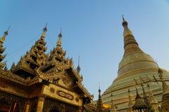 Пагода Shwedagon в Янгоне, Мьянме стоковое фото rf