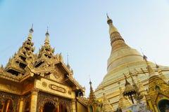 Пагода Shwedagon в Янгоне, Мьянме стоковое изображение