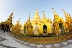Пагода Shwedagon Стоковое Фото