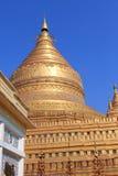 Пагода 4 Shwezigon Стоковая Фотография