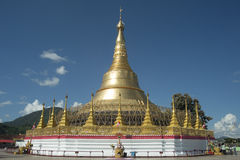 Пагода Tachileik Gon Shwe Da Стоковая Фотография
