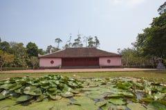Пагода Thien Mu, оттенок стоковое изображение rf