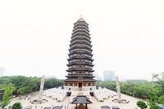 Пагода Tianning Стоковые Фотографии RF