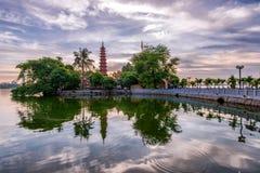 Пагода Tran Quoc Стоковые Фотографии RF
