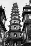 Пагода Tran Quoq Стоковые Фотографии RF