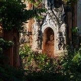 Пагоды Shwe Indein Стоковое Изображение RF