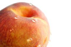 падает вода персика Стоковые Фото