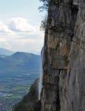 падает гора стоковая фотография