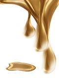падает золото иллюстрация вектора