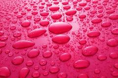 падает красная вода стоковые изображения
