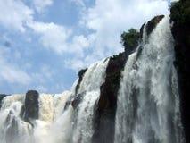 падает национальный парк iguacu Стоковые Фото