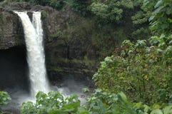 падает радуга Гавайских островов Стоковое фото RF