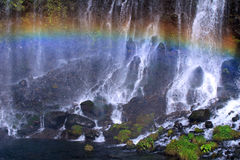 падает радуга Стоковое Фото