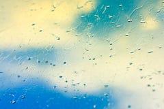 падает стеклянный дождь Стоковое фото RF