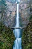 падает multnomah Орегон стоковые изображения