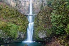 падает multnomah Орегон стоковые изображения rf