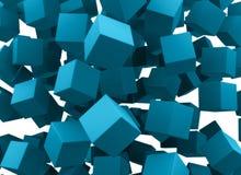 падать блоков Стоковые Фотографии RF
