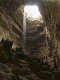 Падать в пещеру стоковые изображения rf