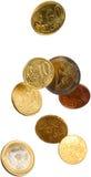 падать евро Стоковое Изображение