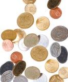 падать монеток Стоковое Фото