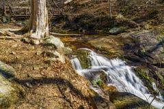 Падая вода каскадирует падения †«верхние Стоковая Фотография RF