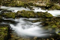 падая вода Стоковые Фотографии RF