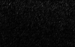Падая дождевые капли изолированные на темной предпосылке Шторм проливного дождя и погоды в идти дождь сезон стоковые фото