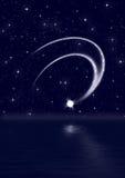 падая звезда Стоковое Изображение RF