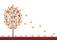 падая листья 3 иллюстрация вектора
