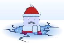 падая льдед иллюстрация штока