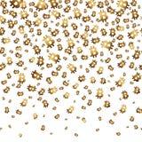 Падая bitcoins, безшовная предпосылка также вектор иллюстрации притяжки corel Стоковая Фотография