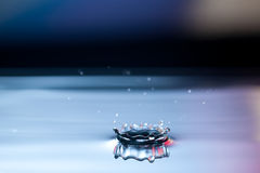 Падение воды выплеска Стоковые Изображения