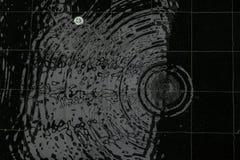 Падение воды в бассейне Стоковое Изображение