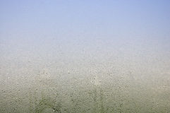 Падение воды на стекле Стоковое Изображение RF