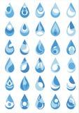 Падение воды иллюстрация штока