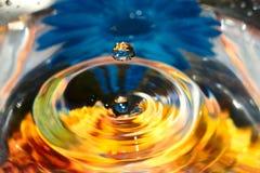 Падение воды Стоковые Изображения
