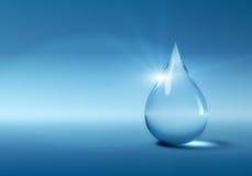 Падение воды Стоковое Изображение RF