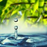 Падение воды Стоковое Изображение