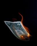 падение доллара Стоковые Изображения
