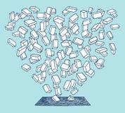 падение кирпичей Стоковая Фотография RF