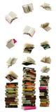 падение книги Стоковые Изображения RF